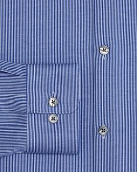 John Varvatos Star USA - Striped Jersey Regular Fit Dress Shirt