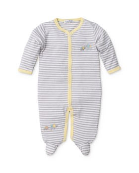 Kissy Kissy - Unisex Striped Elephant Footie - Baby