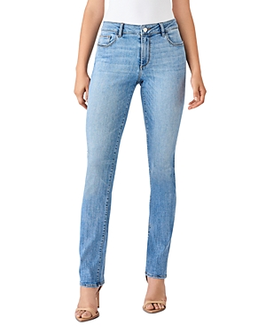 DL1961 Coco Curvy Straight Jeans in Harris