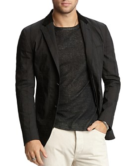 John Varvatos Collection - Textured Slim Fit Jacket
