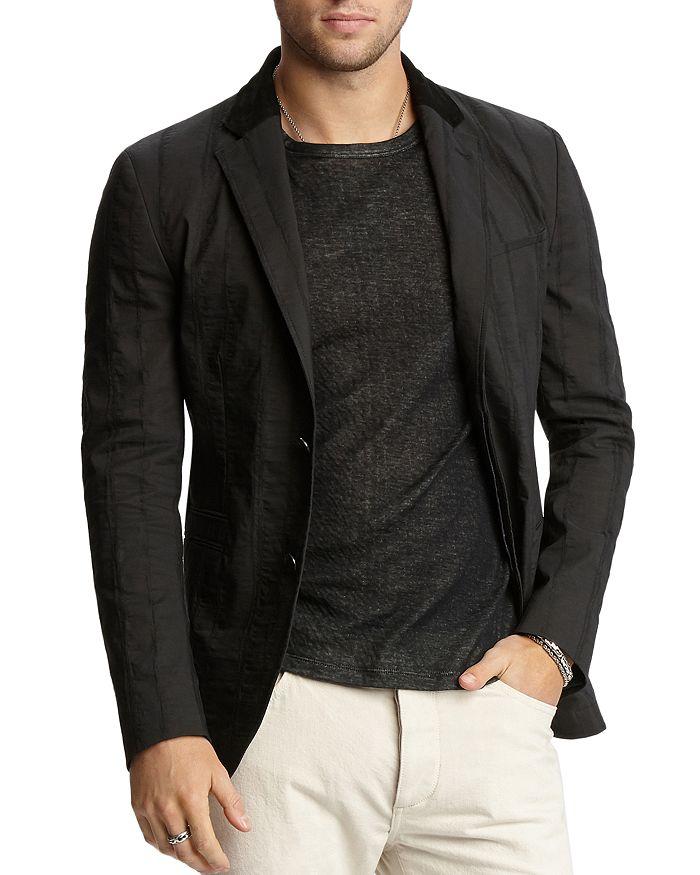John Varvatos Collection - Textured Slim Fit Jacket