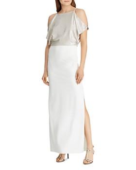 Ralph Lauren - Shimmer Crepe Gown