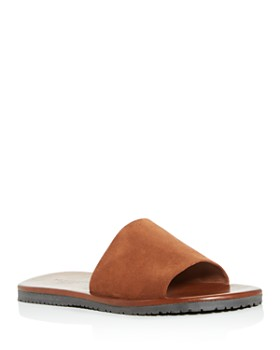 The Men's Store at Bloomingdale's - Men's Suede Slide Sandals - 100% Exclusive