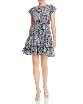 Rebecca Taylor - Leopard-Print Silk Mini Dress - 100% Exclusive