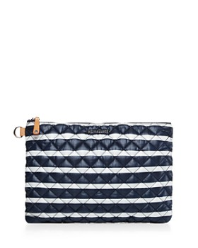 MZ WALLACE - Striped Metro Pouch