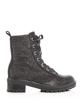 SCHUTZ - Women's Poinsetia Glitter Platform Boots