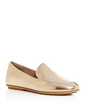 FitFlop - Women's Lena Metallic Apron-Toe Loafers