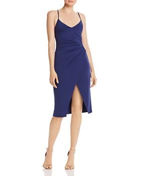 Black Halo - Bowery Ruched Dress