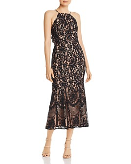 Jarlo - Dahlia Lace Midi Dress - 100% Exclusive