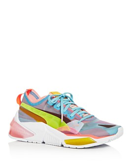PUMA - Women's LQDCell Optic Sheer Low-Top Sneakers