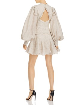 Acler - Wickham Ruffled Dot Mini Dress