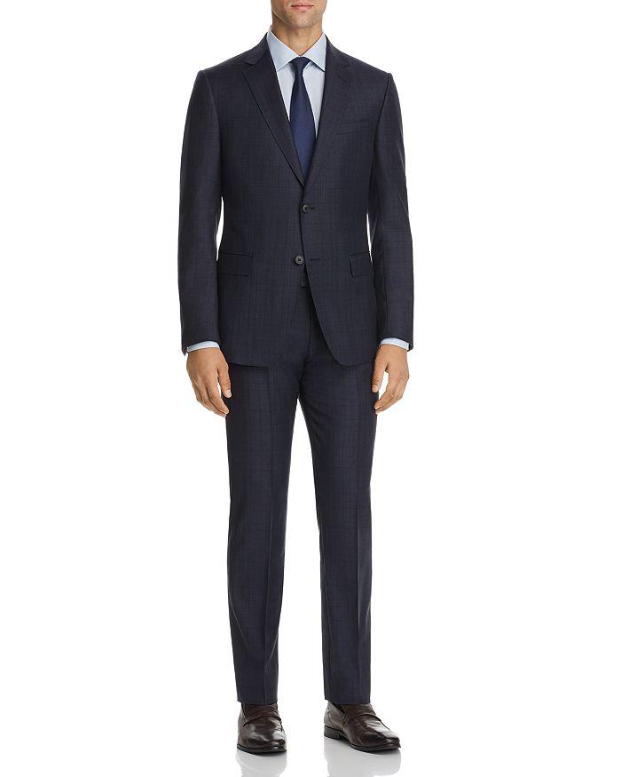 Z Zegna - Plaid Slim Fit Suit