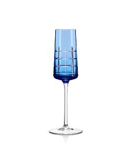 Christofle - Graphik Crystal Flutes, Set of 2