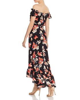 AQUA - Off-the-Shoulder High/Low Dress - 100% Exclusive