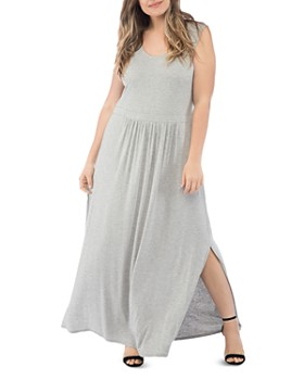 B Collection by Bobeau Curvy - Caine Crisscross-Back Maxi Dress