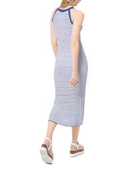 MICHAEL Michael Kors - Striped Racerback Midi Dress