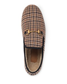 Gucci - Men's Check Wool Loafers
