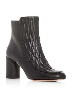 Bally - Women's Beverly Quilted High-Heel Booties