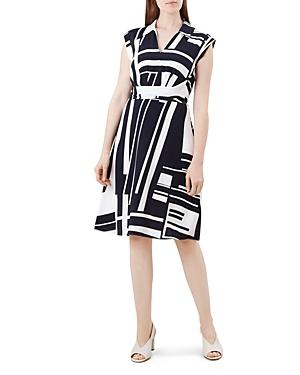 Hobbs London Tahlia Tie-Waist Dress