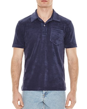 Sandro - Terry Regular Fit Polo Shirt