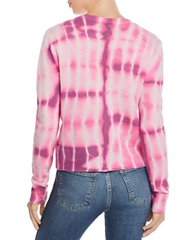 AQUA - Tie-Dye Cashmere Sweater - 100% Exclusive