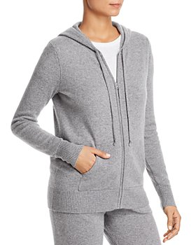 C by Bloomingdale's - Cashmere Zip Hoodie - 100% Exclusive