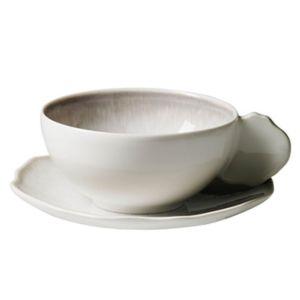 Jars Plume Blue Tea Cup & Saucer