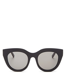 Le Specs Luxe - Women's Airy Canary Square Sunglasses, 51mm