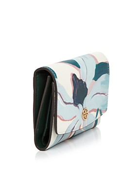 Tory Burch - Robinson Medium Printed Leather Wallet