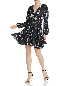 Paper London - Ottie Floral Wrap Dress
