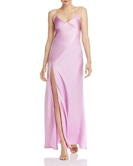 Michelle Mason - Bias-Cut Silk Slip Dress