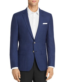 BOSS - Hutsons Large Birdseye Slim Fit Sportcoat