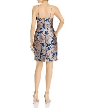 Eliza J - Floral Brocade Cocktail Dress