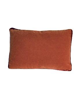 "Kevin O'Brien Studio - Mohair Tuxedo Box Decorative Pillow, 14"" x 20"""