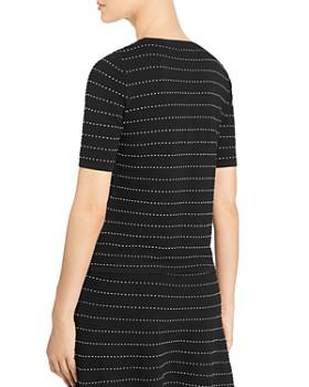 628f52bd25e7 ... Calvin Klein - Stretch-Knit Striped Top