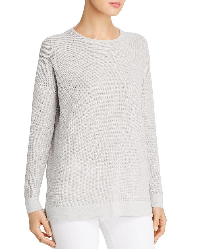 Eileen Fisher - Waffle-Knit Sweater
