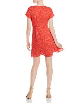 AQUA - Ditsy Floral Mini Dress - 100% Exclusive