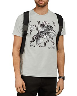 Ted Baker - Mowsey Tiger Print Crewneck Tee