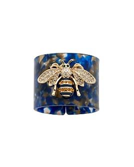 Joanna Buchanan - Stripey Bee Napkin Rings, Set of 4