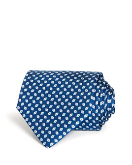 Salvatore Ferragamo -  Rugby Print Silk Classic Tie
