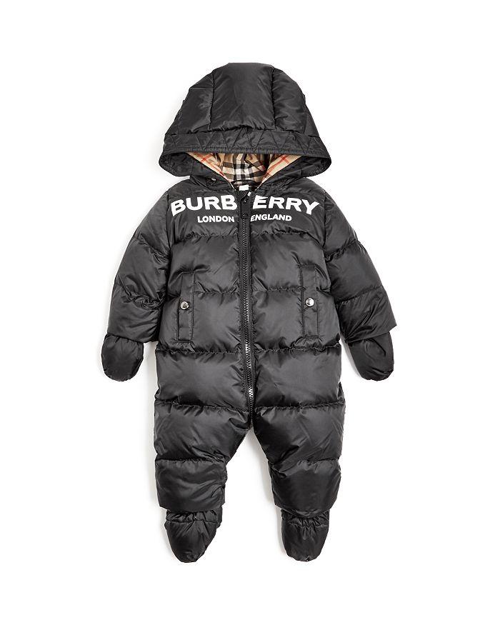 Burberry - Unisex Skylar Logo Hooded Snowsuit - Baby