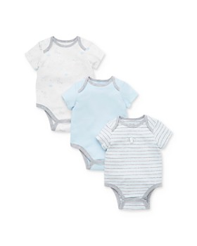Little Me - Boys' Puppy Short-Sleeve Bodysuits, 3-Pack - Baby