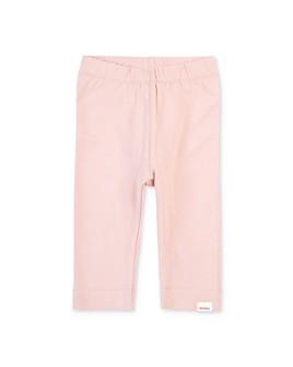 Miles Child - Girls' Organic-Cotton Solid Leggings - Little Kid