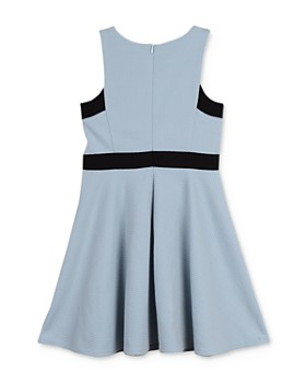 Pippa & Julie - Girls' Textured Fit-and-Flare Dress - Big Kid