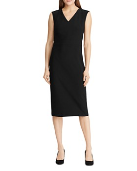 Ralph Lauren - V-Neck Sheath Dress