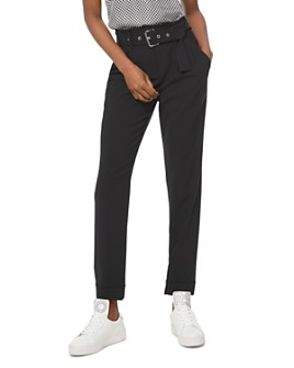 MICHAEL Michael Kors - Belted Straight-Leg Pants