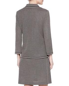 Misook - Mini-Tweed Knit Blazer