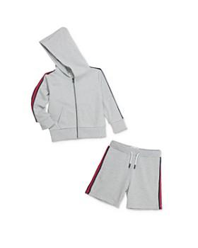 Sovereign Code - Boys' Racer-Stripe Hoodie & Shorts - Little Kid, Big Kid