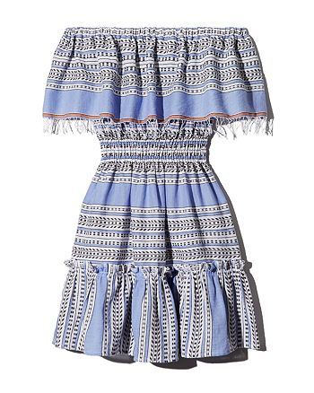 Lemlem - Amira Off-the-Shoulder Mini Dress