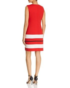 Calvin Klein - Striped-Hem Mini Dress